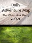 RPG Item: Daily Adventure Map 023: The Elder God Diary 6/11