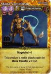 Board Game: Mage Wars: Mana Vampirism Promo Card