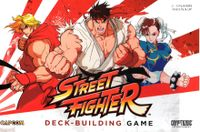 Board Game: CapCom Street Fighter Deck-Building Game