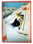 Board Game: Ski-Slalom