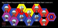 Board Game: Age of Steam Expansion: Robot & Hexpansion