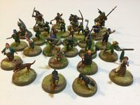 Board Game: Middle-earth Strategy Battle Game: Rules Manual