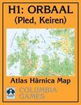 RPG Item: Atlas Hârnica Map H1: Orbaal (Pled, Keiren)