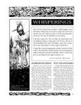 Issue: Whisperings (Issue 1 - 1995)