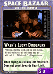 Board Game: Firefly: The Game – Wash's Lucky Dinosaurs Promo Card