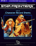 RPG Item: SF AC-1: Star Frontiers Official Character Record Sheets