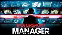 Video Game: Motorsport Manager