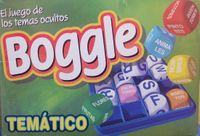 Board Game: Thematic Boggle