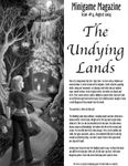 Issue: Minigame Magazine (Issue 4 - Aug 2004) The Undying Lands