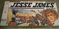 Board Game: The Legend of Jesse James Game