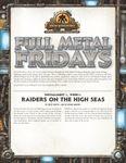 RPG Item: Full Metal Fridays Installment 1, Week 1: Raiders on the High Seas