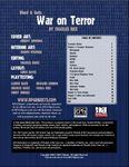 RPG Item: Blood & Guts: War on Terror