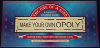 Board Game: Make Your Own Opoly