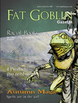 Issue: Fat Goblin Gazette (Issue 2 - Sep 2015)