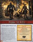 RPG Item: Born to Kill
