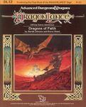 RPG Item: DL12: Dragons of Faith