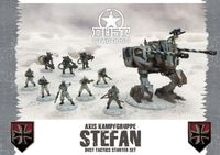 Board Game: Dust Tactics: Axis Kampfgruppe Stefan Starter Set