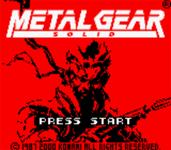 Video Game: Metal Gear Solid (GBC)