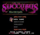 Video Game: SUCCUBUS The Six Spells