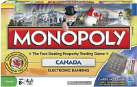 Board Game: Monopoly: Canada (Electronic Banking)