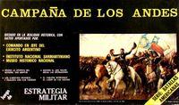 Board Game: Campaña de los Andes