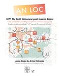 Board Game: An Loc: 1972 – The North Vietnamese Push Towards Saigon
