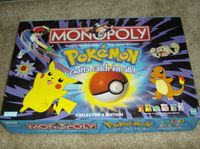 Board Game: Monopoly: Pokémon