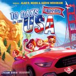 Board Game: 10 Days in the USA