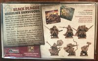 Board Game: Zombicide: Black Plague – Ultimate Survivors