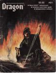 Issue: Dragon (Issue 61 - May 1982)