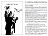 RPG Item: A Hocus Supplement for Apocalypse World: The Witch King