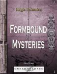 RPG Item: Formbound Mysteries