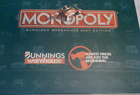 Board Game: Monopoly: Bunnings Warehouse 2007 Edition