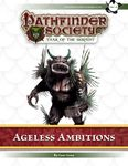 RPG Item: Pathfinder Society Scenario 7-28: Ageless Ambitions
