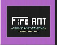 Video Game: Fire Ant