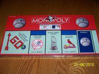 Board Game: Monopoly: Bank of America Baseball