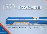 Board Game: 1829 Mainline