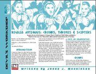 RPG Item: Regalia Antiquus: Crowns, Thrones & Scepters