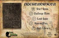 Video Game: The Necronomicon