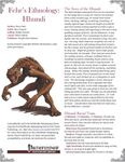 RPG Item: Fehr's Ethnology: Hhundi
