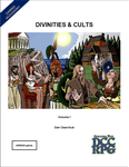 RPG Item: Divinities & Cults Volume I (DCC)