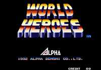Video Game: World Heroes