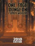 RPG Item: One Page Dungeon Compendium: 2010 Edition