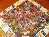 Board Game: Monopoly: My Marvel Heroes