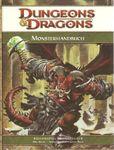 RPG Item: Monster Manual (D&D 4e)