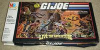 Board Game: G.I. Joe Live The Adventure