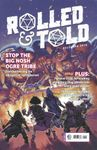 Issue: Rolled & Told (Issue 4 - December 2018)