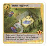 Board Game: Fields of Green: Stolen Property Promo Card