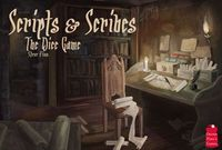 Board Game: Scripts and Scribes: The Dice Game