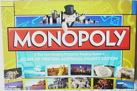 Board Game: Monopoly: Icons of Western Australia Charity Edition
